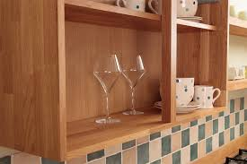 wooden kitchen wall units display cabinets solid wood kitchen