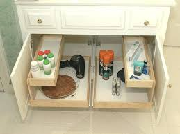 bathroom sink storage ideas the sink storage robys co