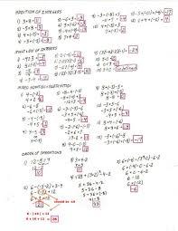 pemdas worksheets 7th grade free math worksheets