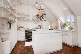kitchen 10 chic modern kitchen in sloped roofed attic apartment