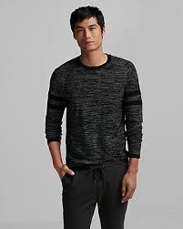 athletic crew neck sweater express