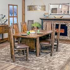 rustic log dining room tables rustic dining set rustic log dining set rustic dining table 60