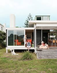 bach to the beach dwell modern house porch in new zealand loversiq