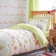 Childrens Single Duvet Covers Colours Owls Owl Multicolour Single Duvet Set Departments Diy