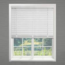 pickled oak 27 in x 64 in blinds chicology faux wood blinds
