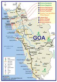 Goa Map Sapphire Project By Riviera Constructions Pvt Ltd Builder Goa