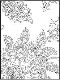 easy paisley coloring pages getcoloringpages