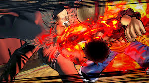 one piece one piece burning blood