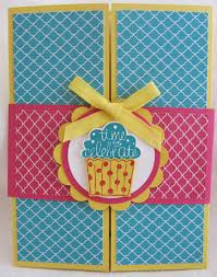 ruthless stamping birthday card class