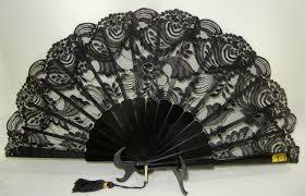 black lace fan black lace fan exquisite fans black