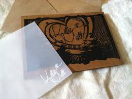 laser cut and engraved wedding invitation from ourclounine com