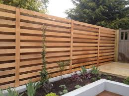 Modern Backyard Fence by Best 20 Outdoor Fencing Ideas On Pinterest Garden Fence Paint