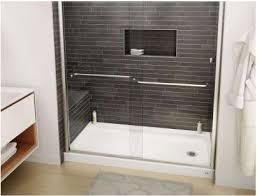Bathroom Shower Base Custom Shower Base Modern Style Tile Pan And Porcelain Pertaining
