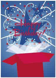 birthday card patriotic birthday cards posty cards inc
