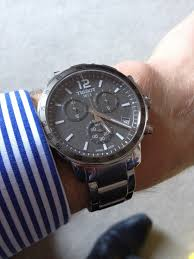 tissot bracelet links images Gents tissot quickster chronograph watch t0954171106700 jpg