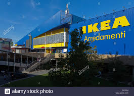ikea home furnishing store rome branch stock photo royalty free