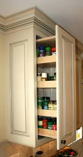 Pullouts For Kitchen Cabinets Kitchen Spice Shelves 3 Inch Pullout Kitchen Spice Rack Cabinet