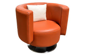 Barrel Accent Chair Vivaldi Barrel Accent Chair Omnia Leather
