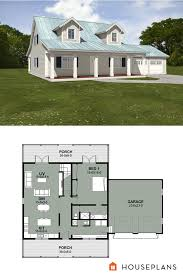 Farmhouse House Plans With Porches 223 Best Farmhouse Plans Images On Pinterest Farmhouse Plans