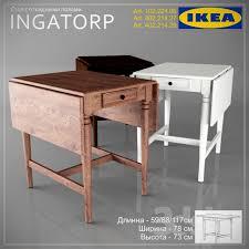 Ikea Art Desk Ingatorp Ikea Desk 3dsky Table Pinterest Ikea Desk Desks And 3d
