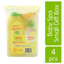 Paket Bedak Zwitsal baby spa small box