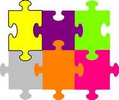 editable jigsaw pieces template clip art library