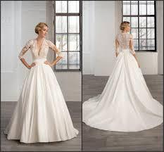 discount bridal gowns satin aline wedding dresses biwmagazine