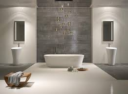 Bathroom Tile 15 Inspiring Design by White And Grey Metaljpg Contemporary Bathroom Grey Modern