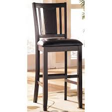 Carlyle  Inch Wood Bar Stool Set Of  Signature Design By - Carlyle sofas 2