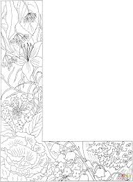 letter l with plants coloring page free printable coloring pages