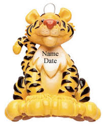 buy tiger ornament personalized ornament from a large