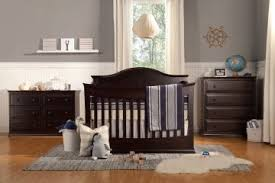 Convertible Crib Set Baby Meadow Collection 4 In 1 Convertible Crib Set In Java