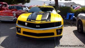 bumblebee camaro transformers edition camaro ss bumblebee engine starts up rev and