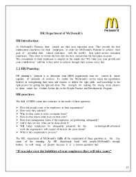mcdonalds quality workbook answer 28 images hr in mc donald s