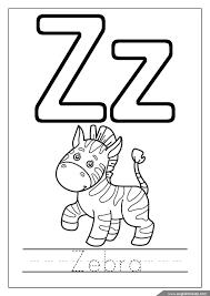 alphabet coloring pages letters u z