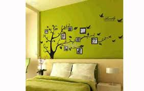 tree wall decal with picture frames youtube