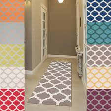 Trellis Kitchen Rug Colorful Runner For Upstairs Woven Comoros Moroccan