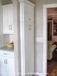 Lindas Remodeled Kitchen Narrow Kitchen Storage And Kitchens - Narrow kitchen cabinets