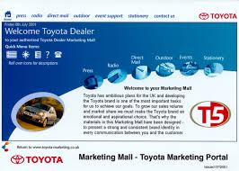toyota dealer portal toyota launches industry leading marketing portal toyota uk