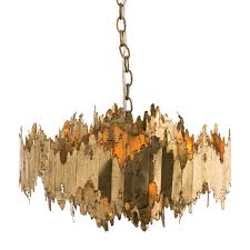 arteriors 86800 payne 7 light chandelier in gold leaf homeclick com