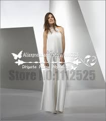 wedding dress jumpsuit aliexpress buy awp 1006 modern bridal white chiffon jumpsuit