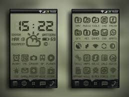 android themes create a killer retro lcd android theme with a few downloads
