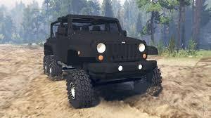 turbo jeep wrangler jeep wrangler 6x6 crawler for spin tires