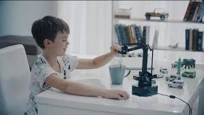 A Computer On Every Desk And In Every Home Another Frontier For Digital Diy A Robot Arm On Every Desk