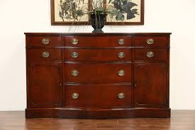 Mahogany Sideboards And Buffets Sold Drexel Travis Court Mahogany Sideboard Buffet Or Server