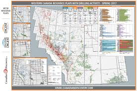 Map Of Western Canada by Wcsb Resource Plays Map Canadian Discovery Ltd