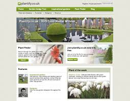 free online home page design green living review plantify your garden using free online