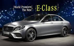 mercedes dashboard 2017 new mercedes e class revealed