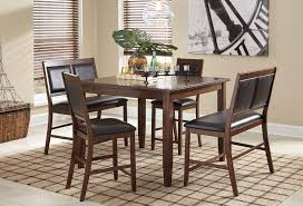 Counter High Dining Room Sets by Meredy 5 Piece Counter Height Dining Set Casual Dining Sets