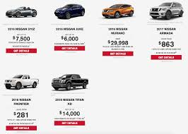 nissan canada september incentives nissan final clearance special offer png